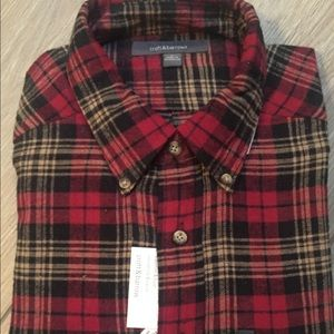 Men's Croft and Barrow NWT flannel shirt